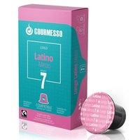 10 Lungo Kapseln für Nespresso Maschinen - Lungo Latino Mezzo (Intensität 7)
