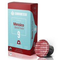 Gourmesso Messico Blend Forte - 10 Kaffeekapseln - Intensität 9