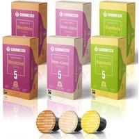 Mandel, Kokos, Cookie - 60 Kapseln für das Nespresso System mit speziellen Aromen