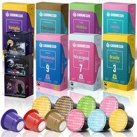 Gourmesso Test Box mit 110 Kapseln für Nespresso Maschinen - versandkostenfrei!