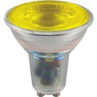 Crompton LED Coloured GU10 4 5w   Yellow