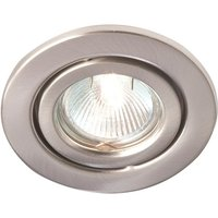 Robus Adjustable IP20 Non Integrated Downlight White   R108 01