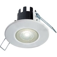 Collingwood Halers H2 Lite T Brushed Steel 6W LED Downlight With Terminal Block 55 Degree   Neutral White