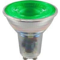 Crompton LED Coloured GU10 4 5w   Green