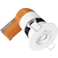 Aurora Enlite 6W Fixed Dimmable Integrated Downlight IP65 Cool White   EN DE6PRO 40