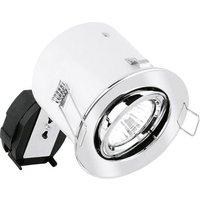 Aurora Adjustable IP20 GU10 Non Integrated Downlight Polished Chrome  AU DLM902PC