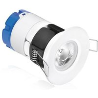 Aurora mPro 7W Fixed Dimmable Integrated Downlight IP65 Warm White   AU MPRO1 30