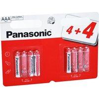 Panasonic AAA Batteries   8 PACK   PANAR3RB8