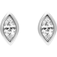 18ct White Gold 0.33ct Diamond Marquise Stud Earrings