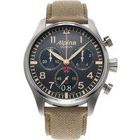 alpina watch startimer pilot quartz chronograph