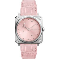 Bell & Ross Watch Brs Pink Diamond Eagle