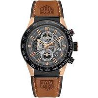 Tag Heuer Watch Carrera Calibre Heuer 01 Rose Gold And Titanium