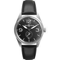 bell and ross watch vintage br 123 black