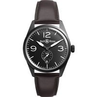 bell and ross watch vintage br 123 carbon black