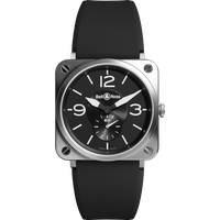 bell and ross watch brs steel d