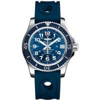 breitling watch superocean ii 36 ocean racer blue