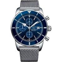breitling watch superocean heritage chronographe gun blue