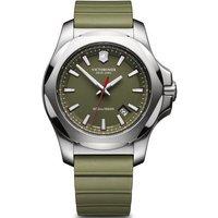 victorinox swiss army watch i.n.o.x. green