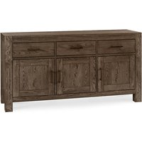 Bentley Turin Wide Dark Oak Rectangular Sideboard