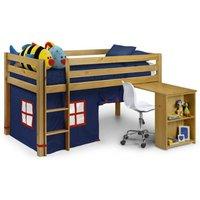 Julian Bowen Wendy High Sleeper Tent / Blue/Red Fabric & Pe Window