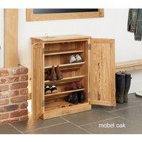Baumhaus Mobel Oak Shoe Cupboard
