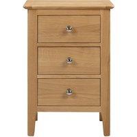 Julian Bowen Cotswold 3 Drawer Bedside Cabinet