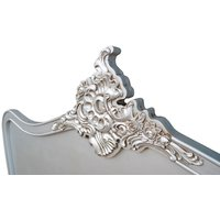 Maison Reproductions French Headboard / Silver / King