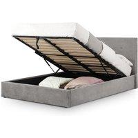 Julian Bowen Shoreditch High Headboard Lift-Up Storage Bed / Slate Grey / King