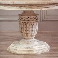 Maison Reproductions Heavy Distressed Round Dining Table
