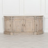 Maison Reproductions Rustic Wooden Large Buffet Sideboard