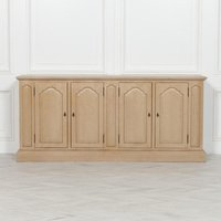 Maison Reproductions Distressed 4 Door Sideboard