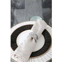 CIMC Set Of 4 5cm Glitz Napkin Ring Set
