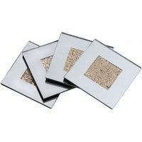 Deco Home Diamond Crush Gold Coaster Set