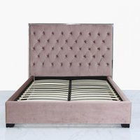 Deco Home Pink Monaco Double Size Bed Frame
