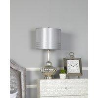 Deco Home Silver Glass Silver Table Lamp