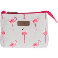 Flamingos Canvas Makeup Bag