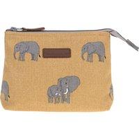 Elephant Canvas Makeup Bag