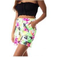 Rimini Tropical Print Shorts