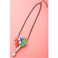 Kaya Teardrop Jewelled Necklace