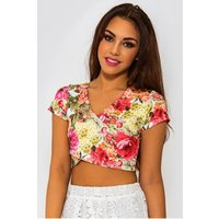 Anisa Floral Crop Top