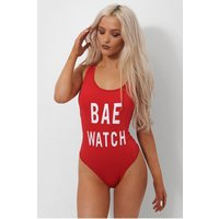 BAE Watch Red Swimsuit