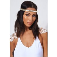 Coachella Gold Jewelled Headband