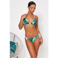 Anya Palm Print Bikini