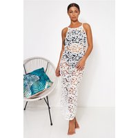 Ibiza White Crochet Maxi Dress