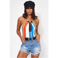 Zamira Rainbow Stripe Bodysuit