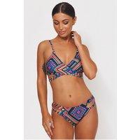 Liona Blue Aztec Bikini