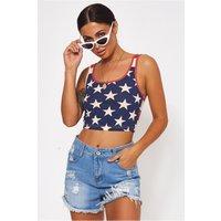Americano Stars & Stripes Vest Top