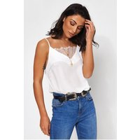 Luca White Lace Camisole