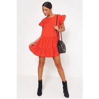Luca Petite Red Smock Dress