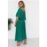 Tama Green Open Back Maxi Dress